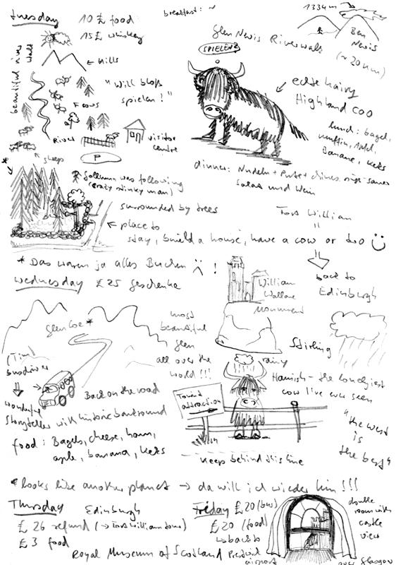 Tagebuch Seite 6